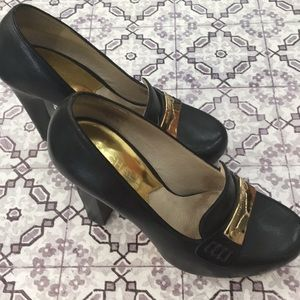 Michael Kors Tierlyn block heel loafers